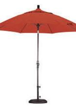 California Umbrella 9' Collar Tilt - Olefin Sunset