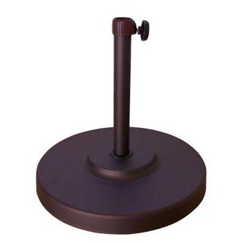California Umbrella Bronze Umbrella Base - Steel/Concrete 50lbs