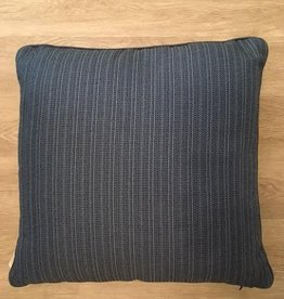 "Sunset West USA Navy Multi Texture 22"" Pillow"