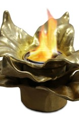 Anywhere Fireplace Heathcote Gold Fireplace