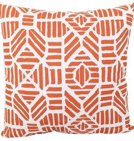 "Lava Pillows Orange Pineapple 18"" Pillow"