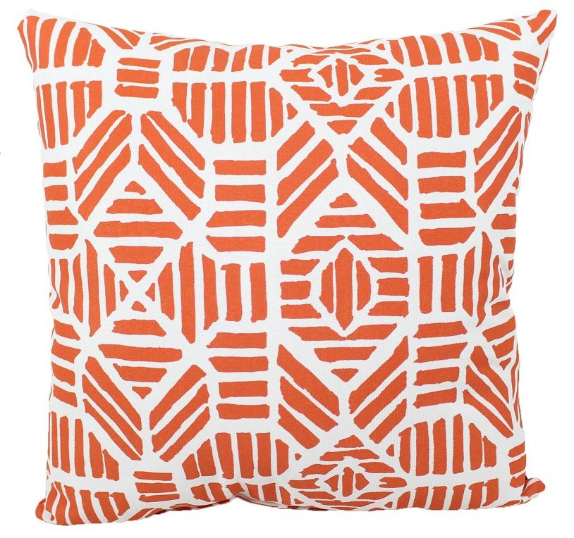 "Lava Pillows Orange Pineapple 18"" Pillow"