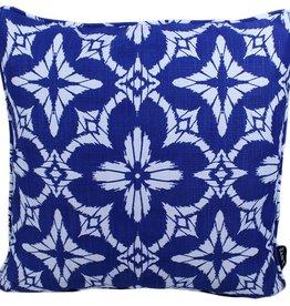 """Lava Pillows Burst of Blue 17"""" Pillow"""