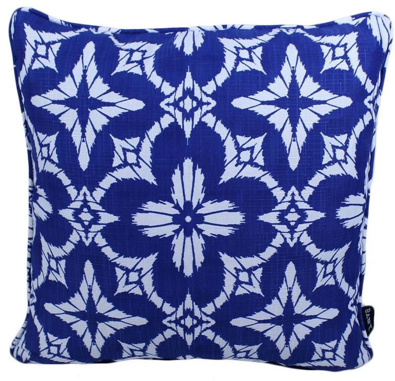 "Lava Pillows Burst of Blue 17"" Pillow"