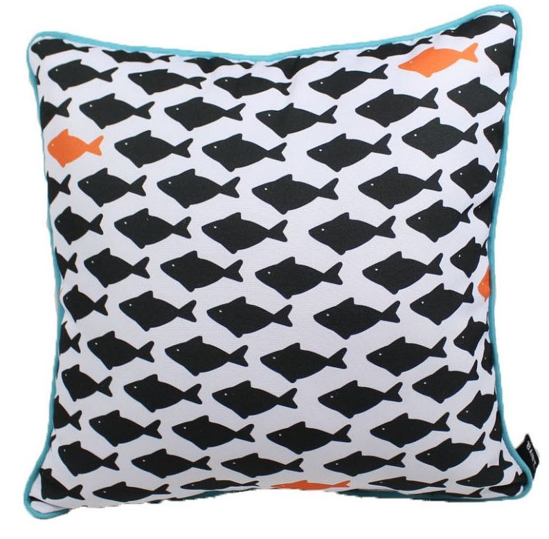 "Lava Pillows Fish Three 18"" Pillow"