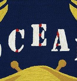 Couristan Covington Accents Gone Crabbing 2'x3'