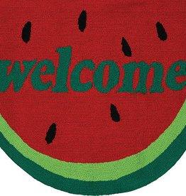 Couristan Covington Accents Welcome Slice 2'x3'