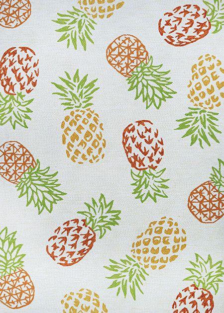 "Couristan Covington Pineapples Sand 5'6""x8'"