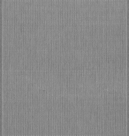 """Couristan Recife Saddlestitch Grey/White 2'3""""x7'10"""""""