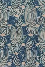"Loloi NEWPORT NP-01 BLUE/TEAL 5'3"" X 7'7"""