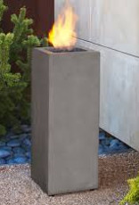 Real Flame Baltic Square LP Fire Column 1lb Tank
