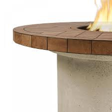 Real Flame Ogden Round LP Firetable - Sand