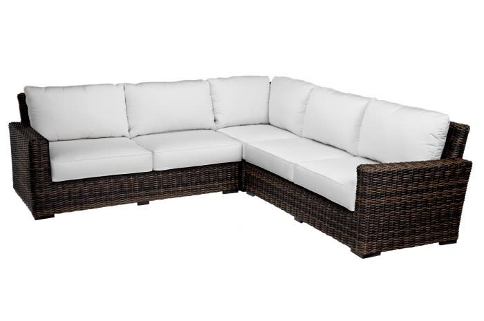 Sunset West USA MONTECITO SECTIONAL 3PC (GRADE A FABRIC)