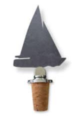 SPARQ Home Slate Cork Topper - Sailboat