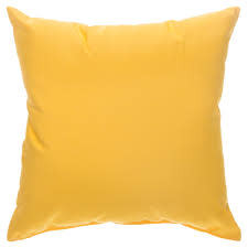 """American Mills Canvas Sunflower 18"""" Pillow"""