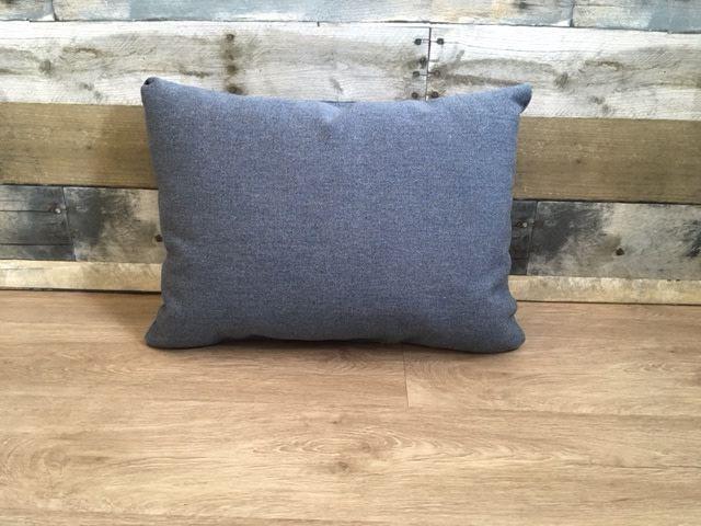 "American Mills Heritage Denim 12""x18"" Pillow"