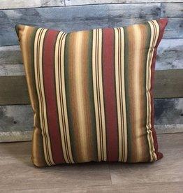 "American Mills Multi Stripe 18"" Pillow"