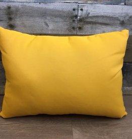 """American Mills Canvas Sunflower 12""""x18"""" Pillow"""