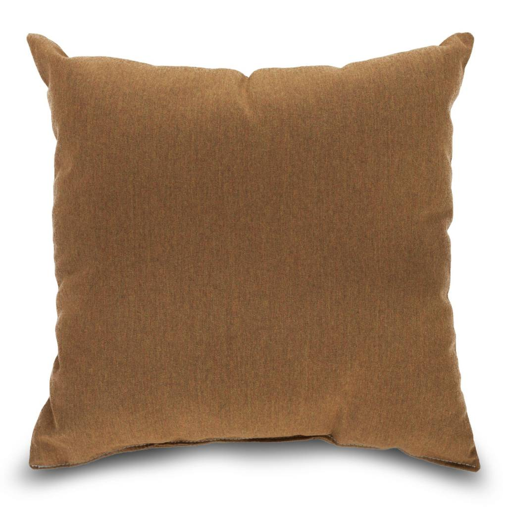 "American Mills Canvas Teak 18"" Pillow"