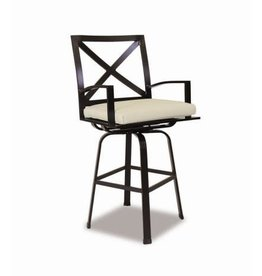 Sunset West USA LA JOLLA SWIVEL BARSTOOL/COUNTER STOOL (GRADE A FABRIC)