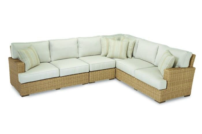 Sunset West USA LEUCADIA SECTIONAL 3 PC (GRADE A FABRIC)