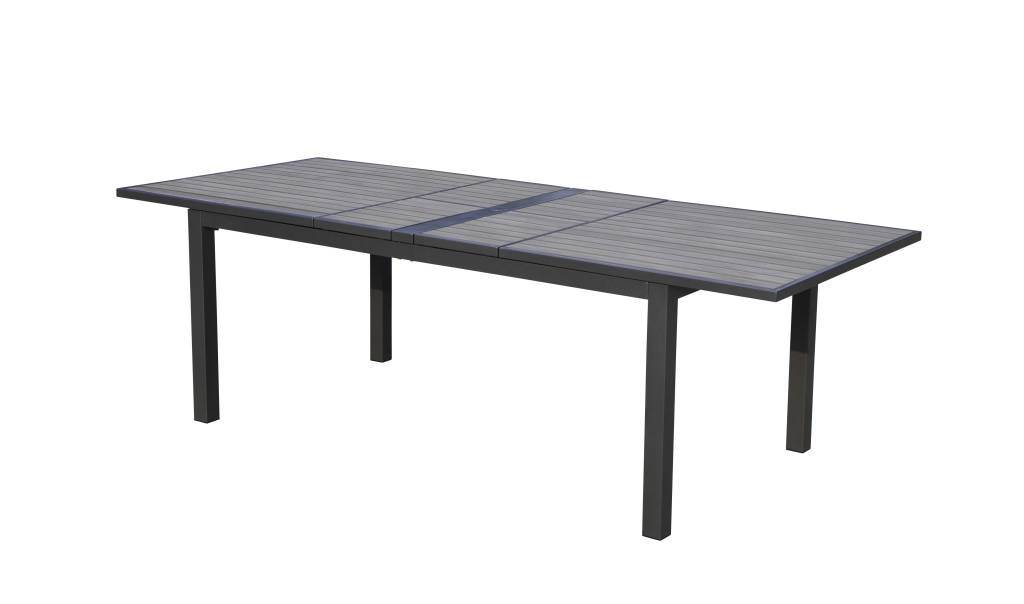"SKY POLYTEAK DOUBLE EXTENSION DINING TABLE 72-94"" x 40'' x 30"""