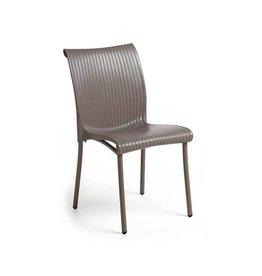 Nardi Regina Chair - Tortora/Argento Leg