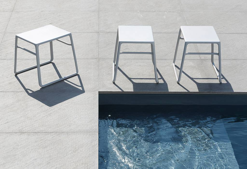 Nardi Pop Side Table - Bianco