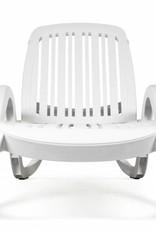 Nardi Eden Chaise Lounge - Bianco