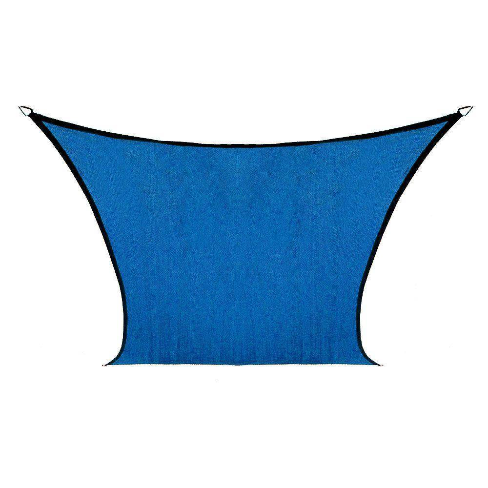Gotcha Covered 9'X9' Square Sail Shade Aquatic Blue