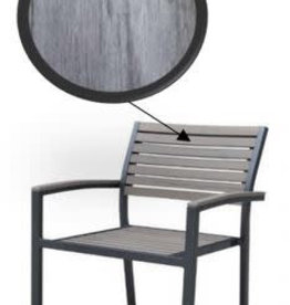Lounge Factory SKY ALU POLYWOOD CHAIR (STACKABLE)