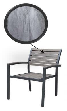 SKY ALU POLYWOOD CHAIR (STACKABLE)