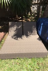 """Sunset West USA CORONADO DOUBLE DAYBED/NO CUSHIONS 57""""W X 78""""L X 9""""H"""