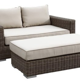 Sunset West USA CORONADO DOUBLE CHAISE 2PC (GRADE A FABRIC)