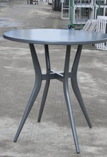 "Lounge Factory CLOVIS BISTRO 28"" ROUND TABLE - ANTHRACITE"