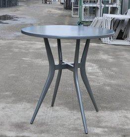 "Lounge Factory CLOVIS BISTRO 28"" ROUND TABLE - ANTHRACITE"