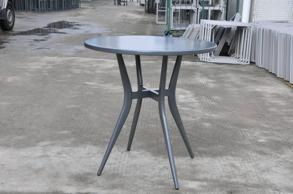 "CLOVIS BISTRO 28"" ROUND TABLE - ANTHRACITE"