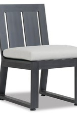 Sunset West USA REDONDO ARMLESS DINING CHAIR (GRADE A FABRIC)