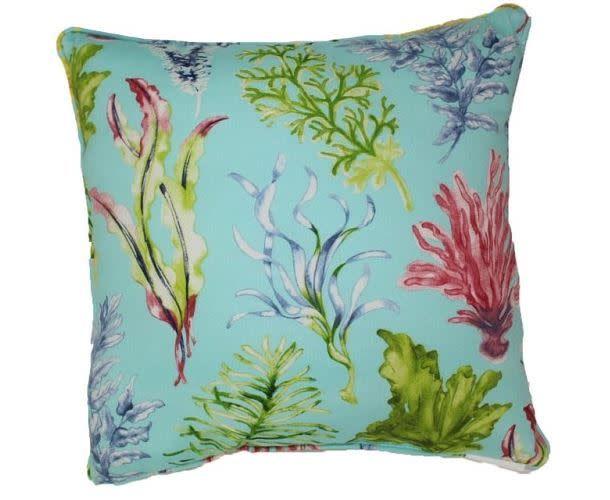 Lava Pillows Ocean Plants 18x 18