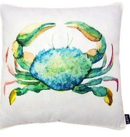"Lava Pillows W Crab Green 18"" Pillow"