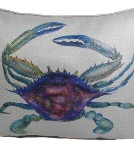 Lava Pillows W Crab Blue 20x17