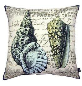 Lava Pillows 2 Shells Sea 18x18