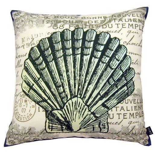 Lava Pillows Clam 18x18