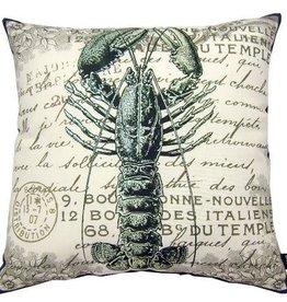 Lava Pillows Lobster Sea 18x18