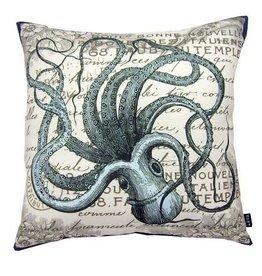 """Lava Pillows Octopus Sea 18"""" Pillow"""