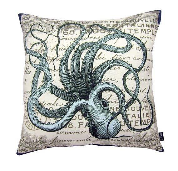 Lava Pillows Octopus Sea 18x18