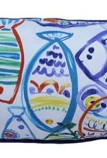 Lava Pillows Carribean Fish 12x24