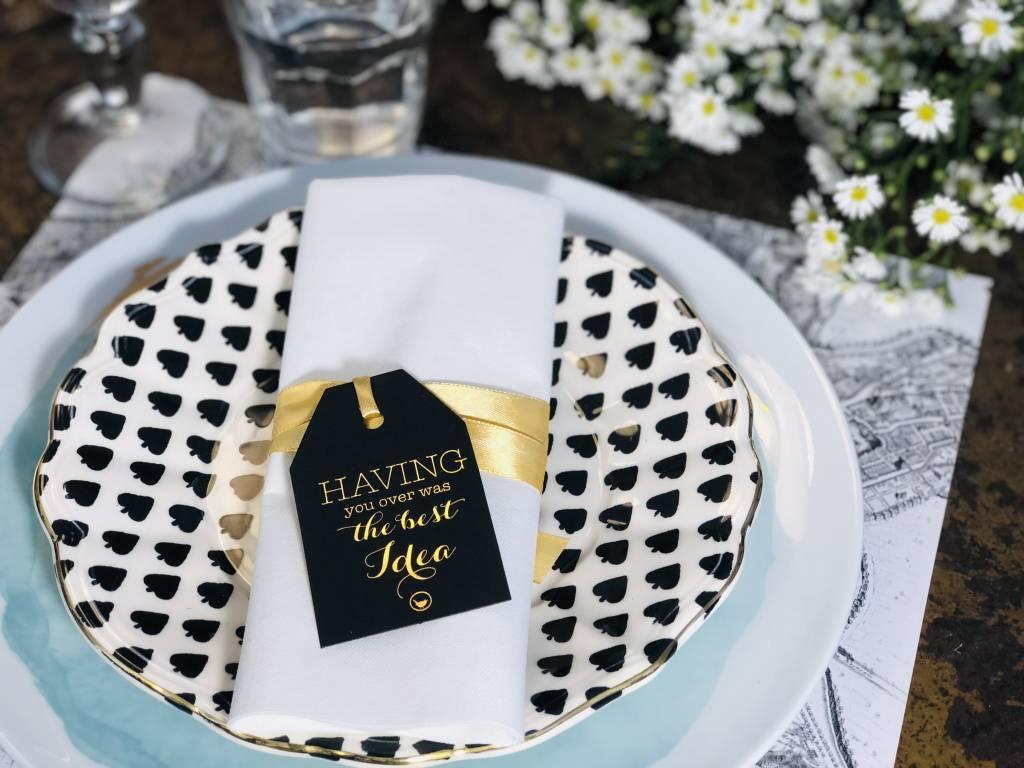Indigo De Papel Best Idea Table Tags (24 Per Pack)