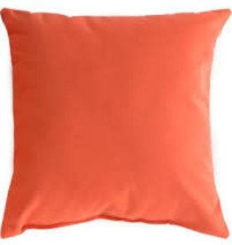 "Gotcha Covered Melon Sunbrella 16"" Pillow"