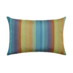 "Gotcha Covered Astoria Lagoon Lumbar Pillow 9""x18"""